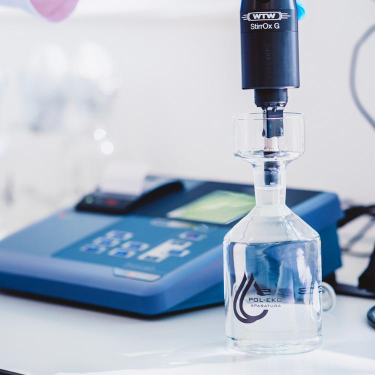Badanie wody pitnej w laboratorium