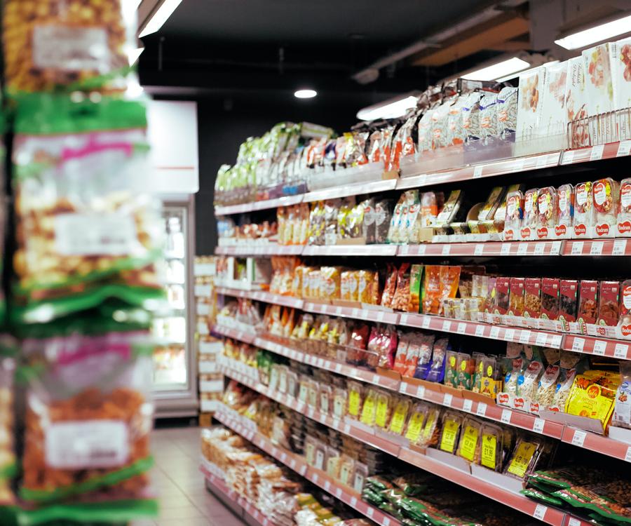 żywność w sklepie